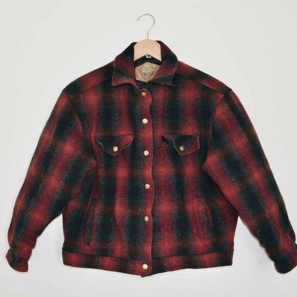 Woolrich Other - WoolRich Vintage Flannel jacket Boys large